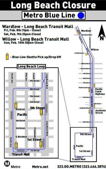 Long Beach Weekend Service