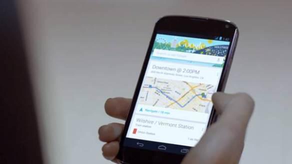 Nuevo producto de Google muestra como los usuarios pueden revisar los horarios de los trenes de Metro Rail.