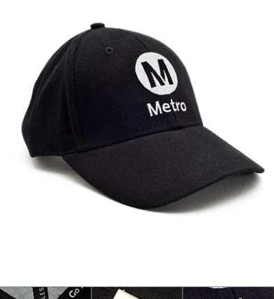Metro black hat