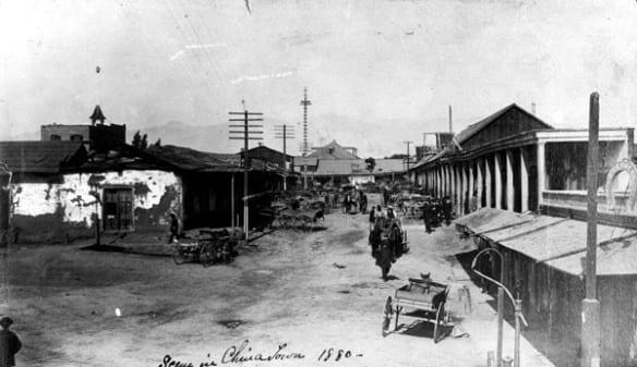 La Calle de Los Negros