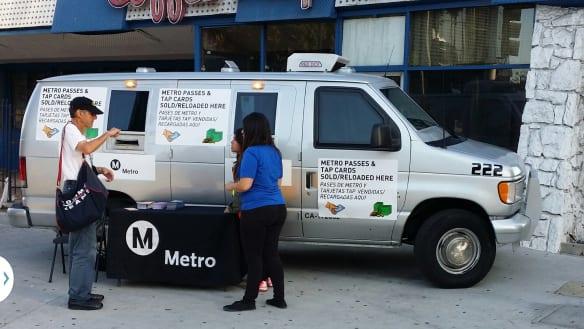 camioneta Metro