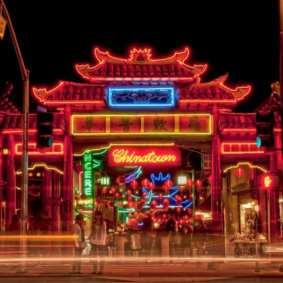 Chinatown en LA: Foto: Facebook.