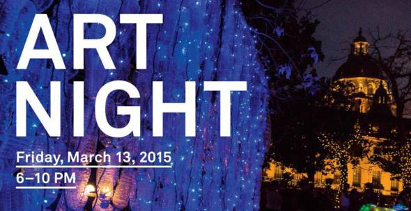 art night Pasadena