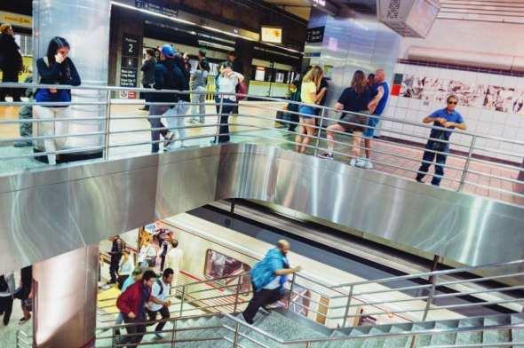 Estación 7th.Metro Center de la Línea Azul.