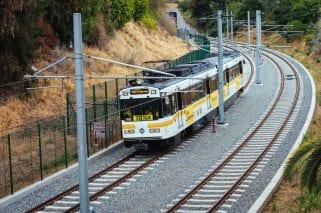 Tren de la Línea Expo.