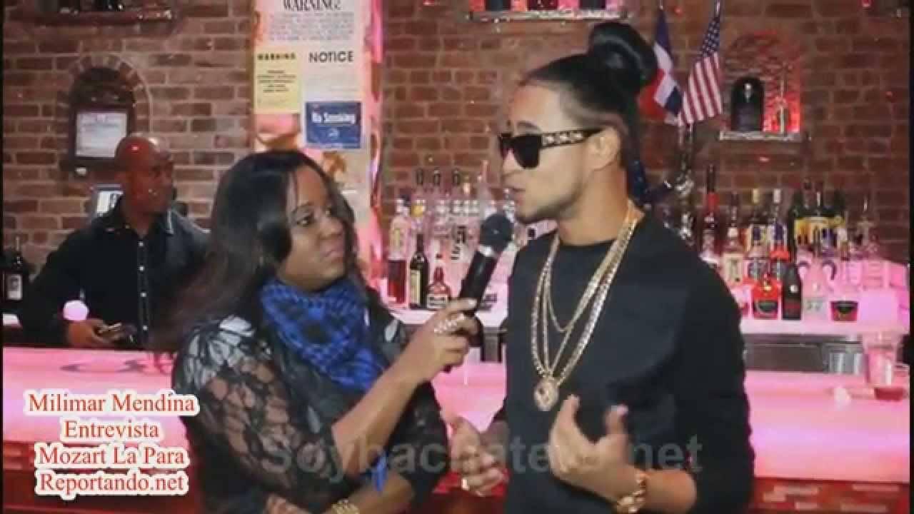 Milimar Medina Entrevista a Mozart La Para en Rueda de Prensa del Dominican Urban Fest en 809 Lounge