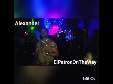 """Alexander""""El Hijo Del Pueblo""""-Mi Ultimo Adios(En Vivo)"""