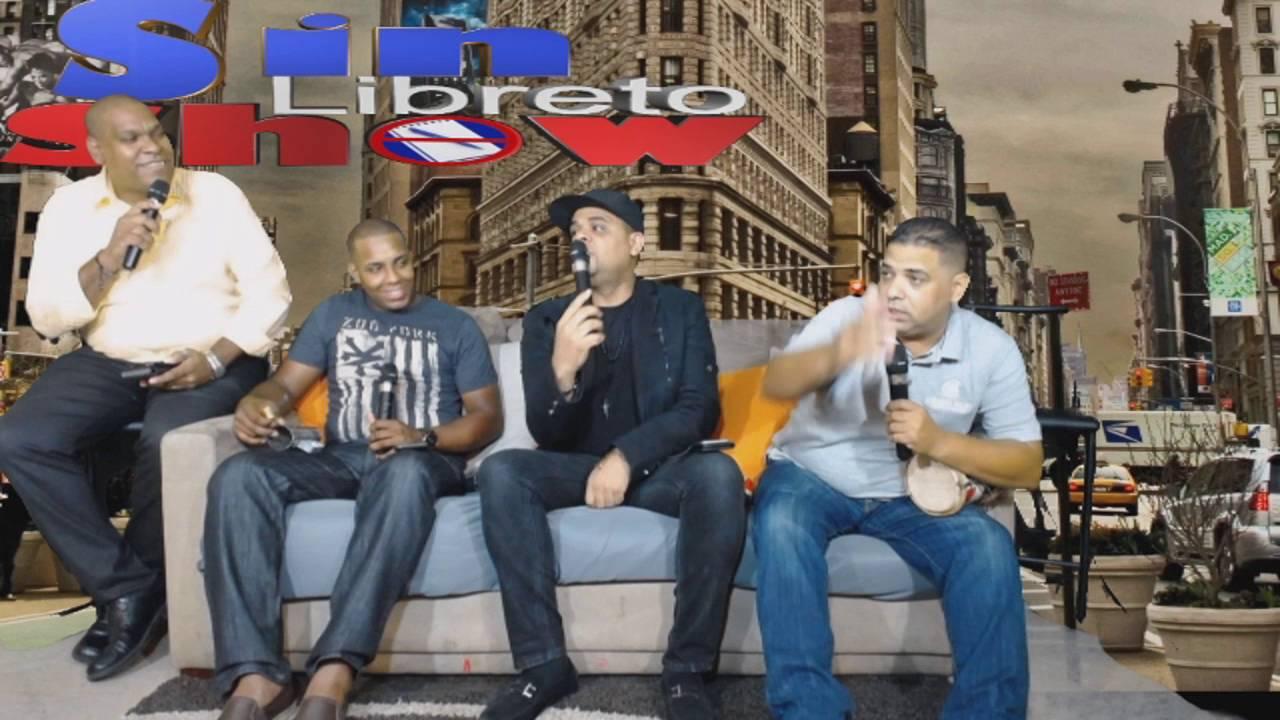 En @SinLibretoShow EP23 Entrevista A @RevolucionRD_ Salsera (Sept 8,2016