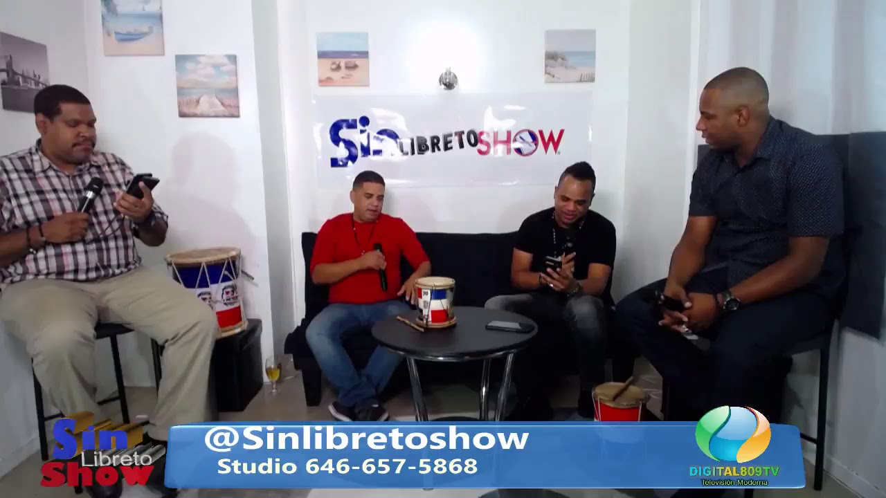 Sin Libreto Show EP72 Locos Revueltos Digital809tv.com @SinLibretoShow