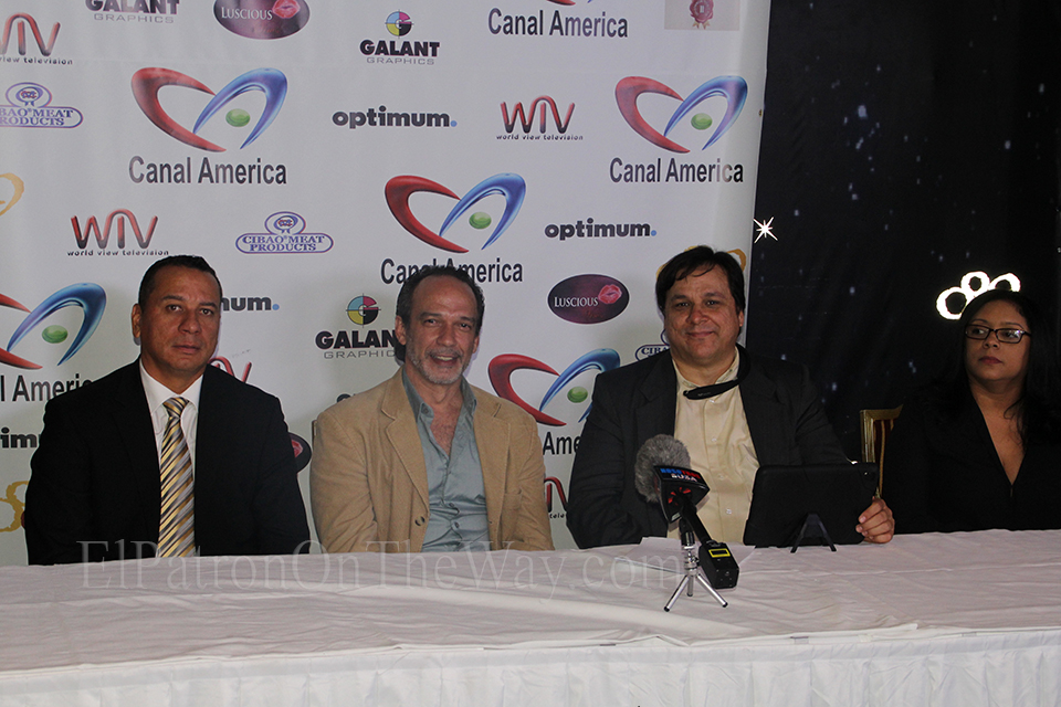 Rueda De Prensa Del Canal America