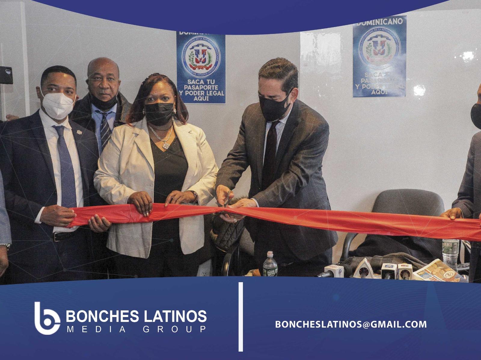 El Consulado General  De La República Dominicana En Esta Cuidad Nueva York Dejó Inaugurada Ayer Una Nueva Oficina O Extensión Consular En El Bronx.