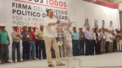 Alfonso Durazo Montaño, dirigente estatal de MORENA.