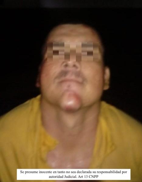 Detenido Andres Guadalupe