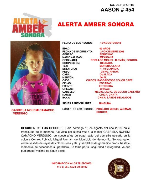 Localizan a niña  Gabriela Nohemí en Miguel Alemán (1).jpeg