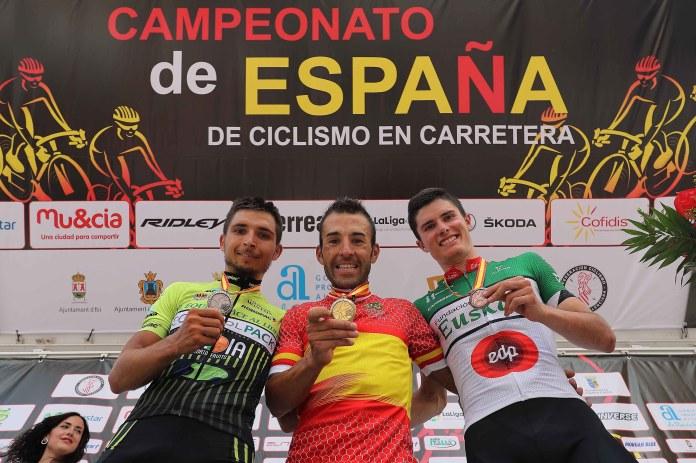Egoitz logró en bronce en los nacionales élite en ruta (Foto: RFEC)