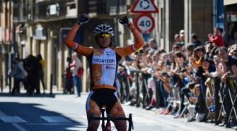 Belén López, ganadora en Tafalla. Foto © Lointek