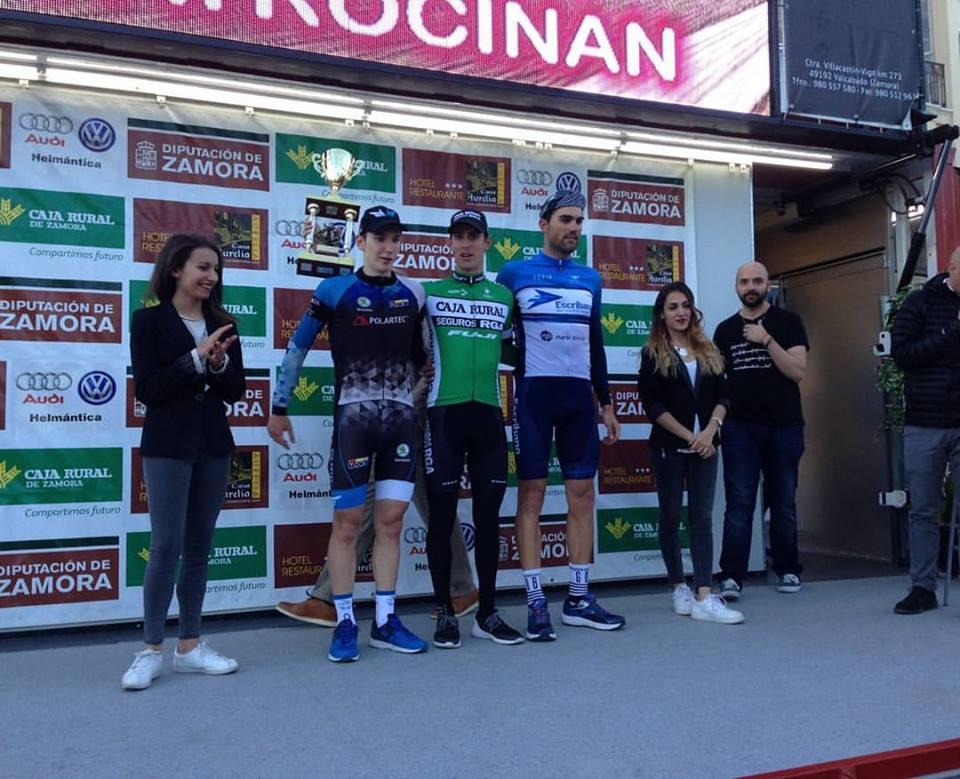 """Cristian ya ha arrancado este año subiendo al podium como en el Trofeo Zamora (Foto: Facebook """"Cristian Torres Cuenca"""")"""