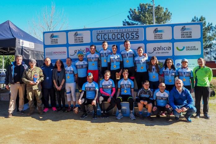 Campeonato Galicia CX podium