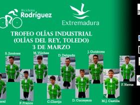 Alineación Olías Bicicletas Rodríguez Extremadura