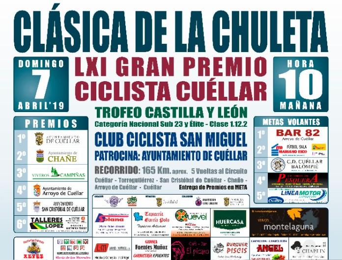 Cartel Chuleta Cuellar 2019