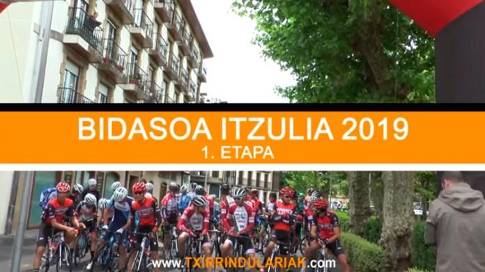 Bidasoa Itzulia Resumen etapa 1