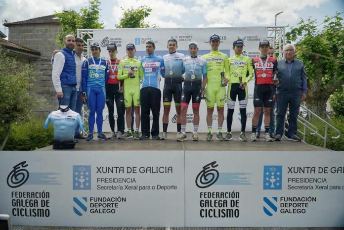 Podium Campeonato Galicia