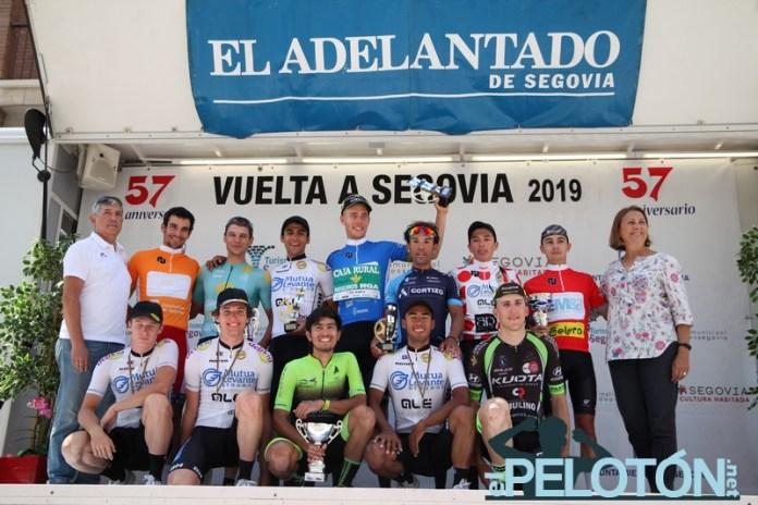 Podium Vuelta Segovia