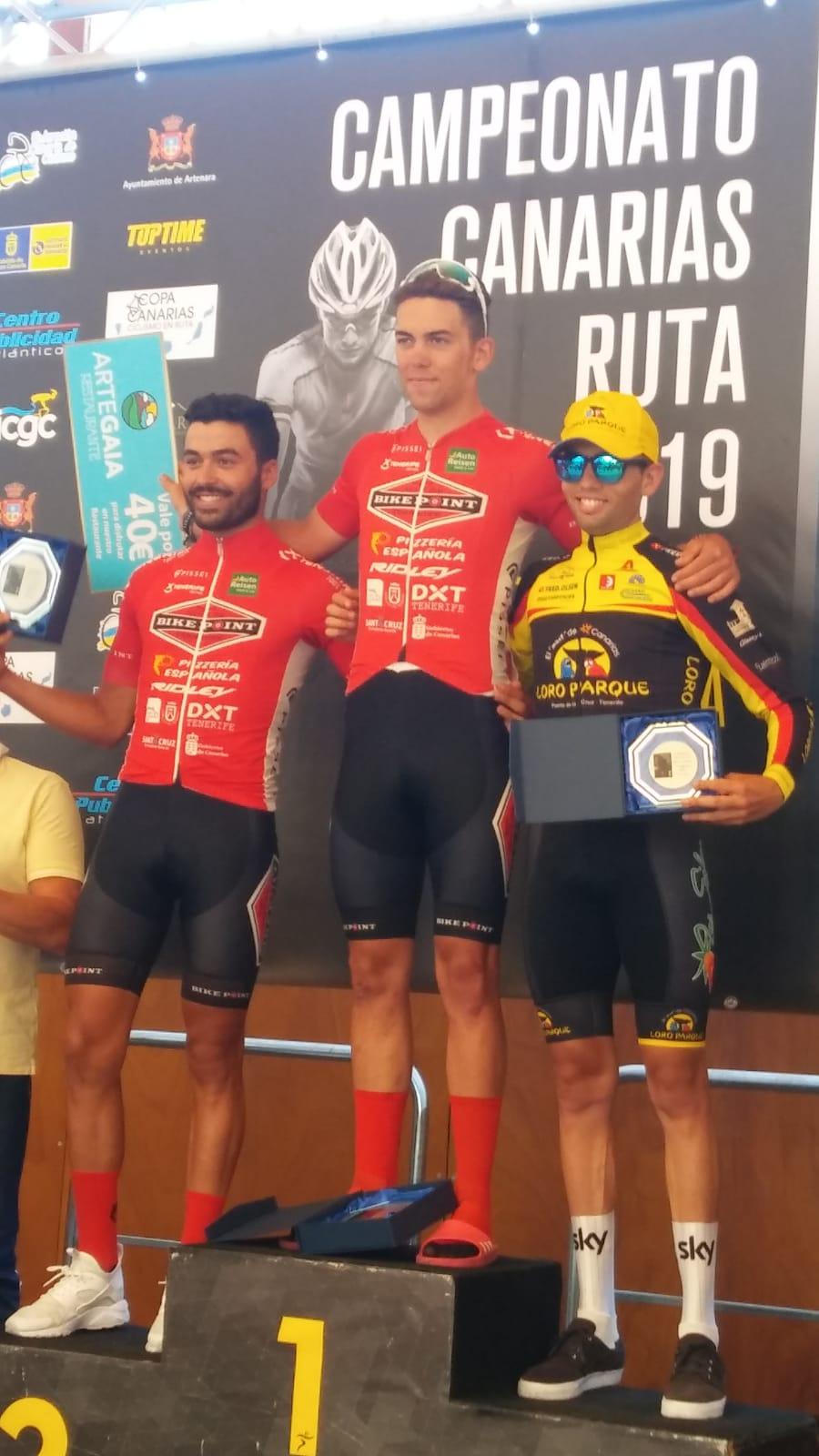 Tenerife Bike Point Pizzería Española Dani de la Fe Campeonato Canarias
