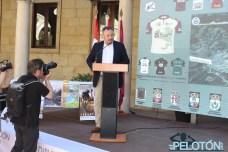 Eduardo Morán, nuevo presidente de la Diputación de León, estrenó su cargo en este acto