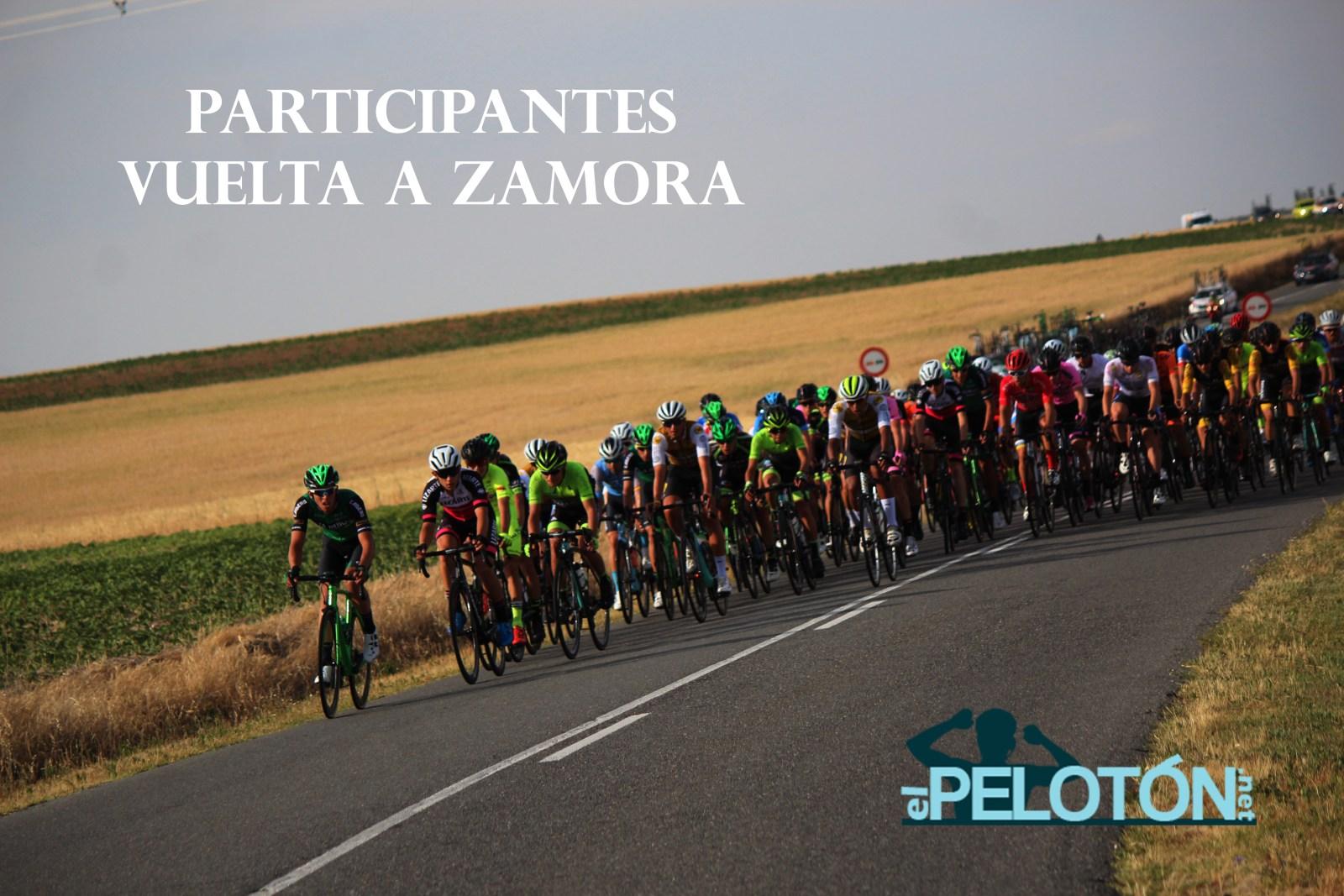 Participantes Vuelta Zamora