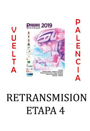 Retransmisión TV Vuelta Palencia etapa 4
