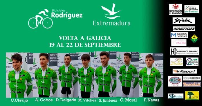 Alineación Galicia Bicicletas Rodríguez-Extremadura