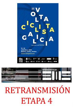 Retransmisión Volta Galicia etapa 4
