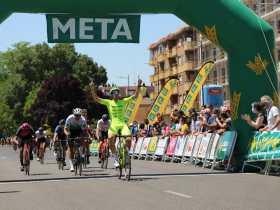 Imagen del vencedor Miguel Ángel Fernández en el Trofeo Ayto Zamora 21 (Foto: Fabio López-CDC Zamora-Ciclismo El Pelotón)