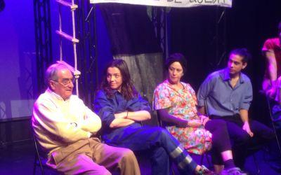 Charla con el dramaturgo Luis Matilla y los actores de la compañía A Flote Teatro