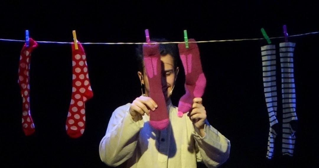 Historia de un calcetín de La canica Teatro