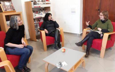 Entrevista a Eugenia Manzanera y Magda Labarga por Eva Llergo