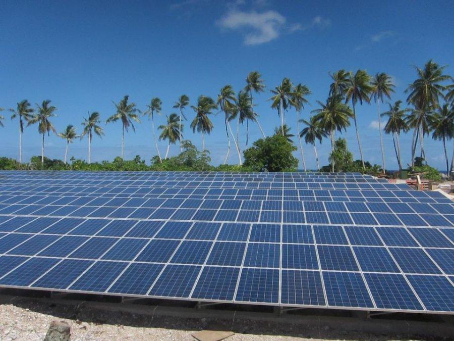 Parque fotovoltaico de las islas Tokelau
