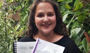 La estudiante de la Universidad de Lancaster, Abigail Carson.