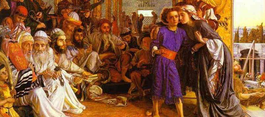Resultado de imagen para Los padres de Jesús iban todos los años a Jerusalén a la fiesta de la Pascua. Cuando tuvo doce años, subieron ellos como de costumbre a la fiesta y, al volverse, pasados los días, el niño Jesús se quedó en Jerusalén, sin saberlo sus padres. Pero creyendo que estaría en la caravana, hicieron un día de camino, y le buscaban entre los parientes y conocidos; pero al no encontrarle, se volvieron a Jerusalén en su busca.