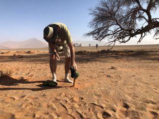 arena fina del desierto