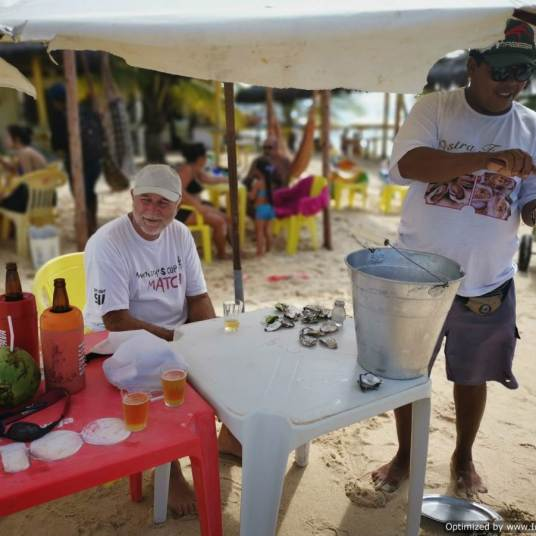 vendedor de ostras