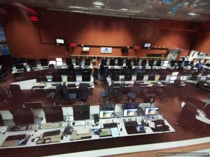 sala de seguimiento de lanzamientos