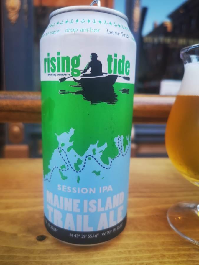 cerveza con nombre nautico, marea entrante