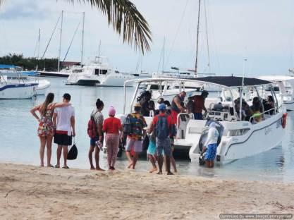 turistas en pandemia en Bayahibe