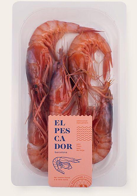 el pescador home valores packaging gamba 2
