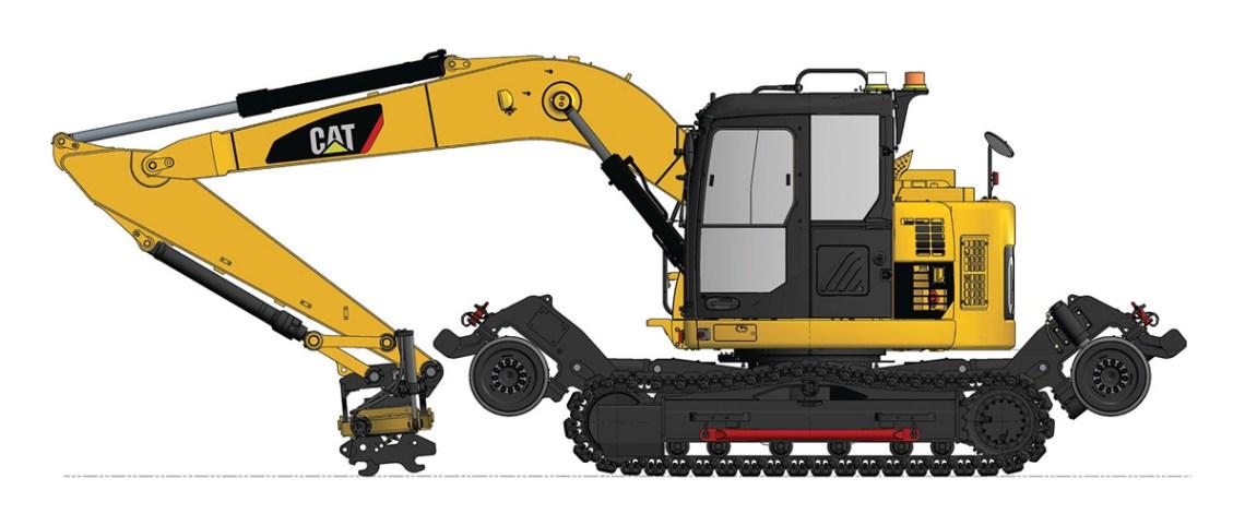 Railmax RMT14D Rail Excavator
