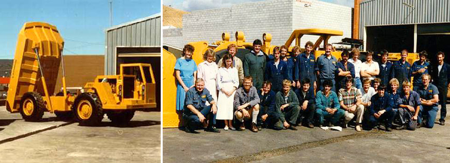Elphinstone Pty Ltd History