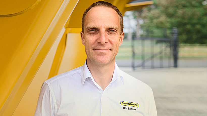 Ben Sandow General Manager Elphinstone