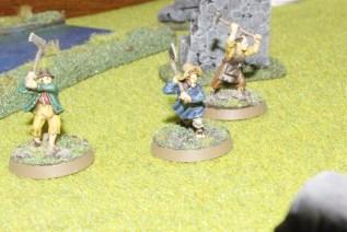 3 finished hobbits